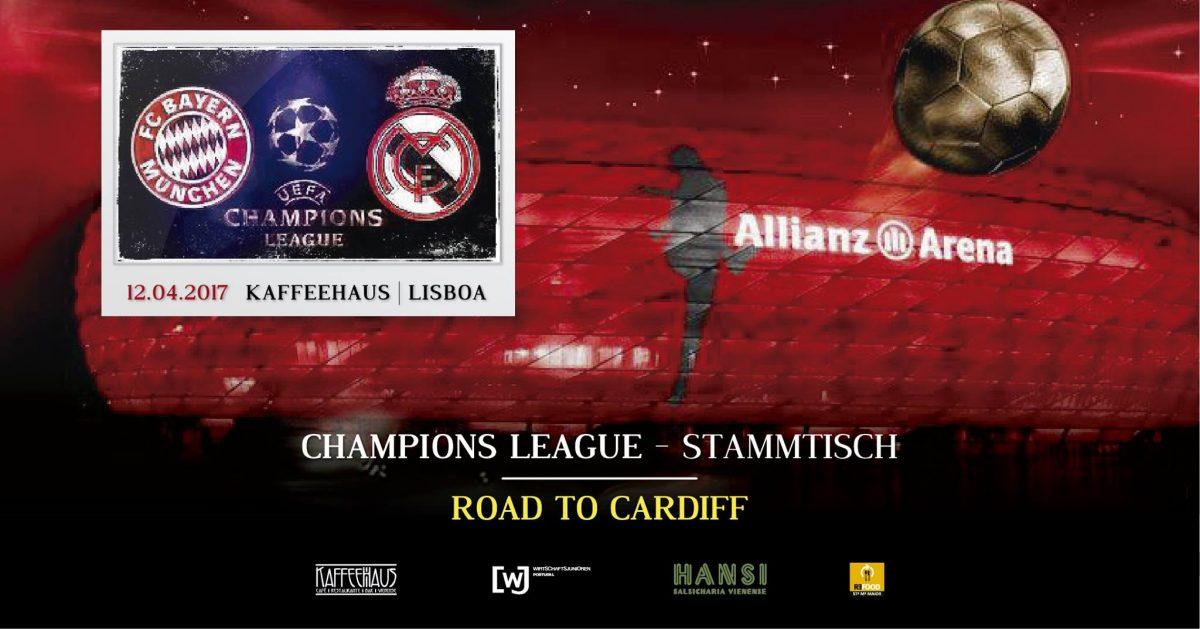Champions League – Stammtisch – Lisbon
